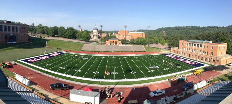 Samford new football field