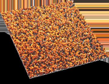 Combat Turf Orange