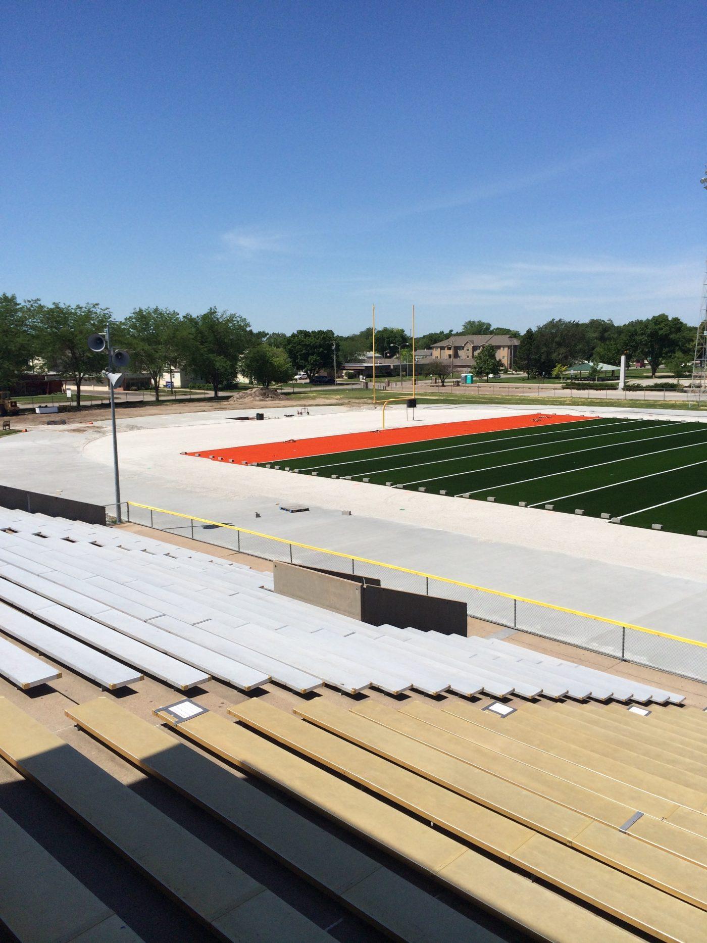 Midland University Prepares For New Sporturf Football