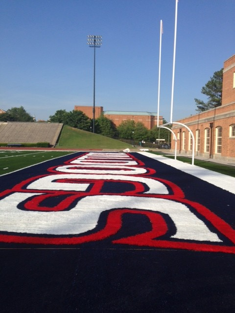 Samford Football Field