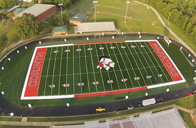 Corinth High School Unveils New Sporturf Field Sporturf