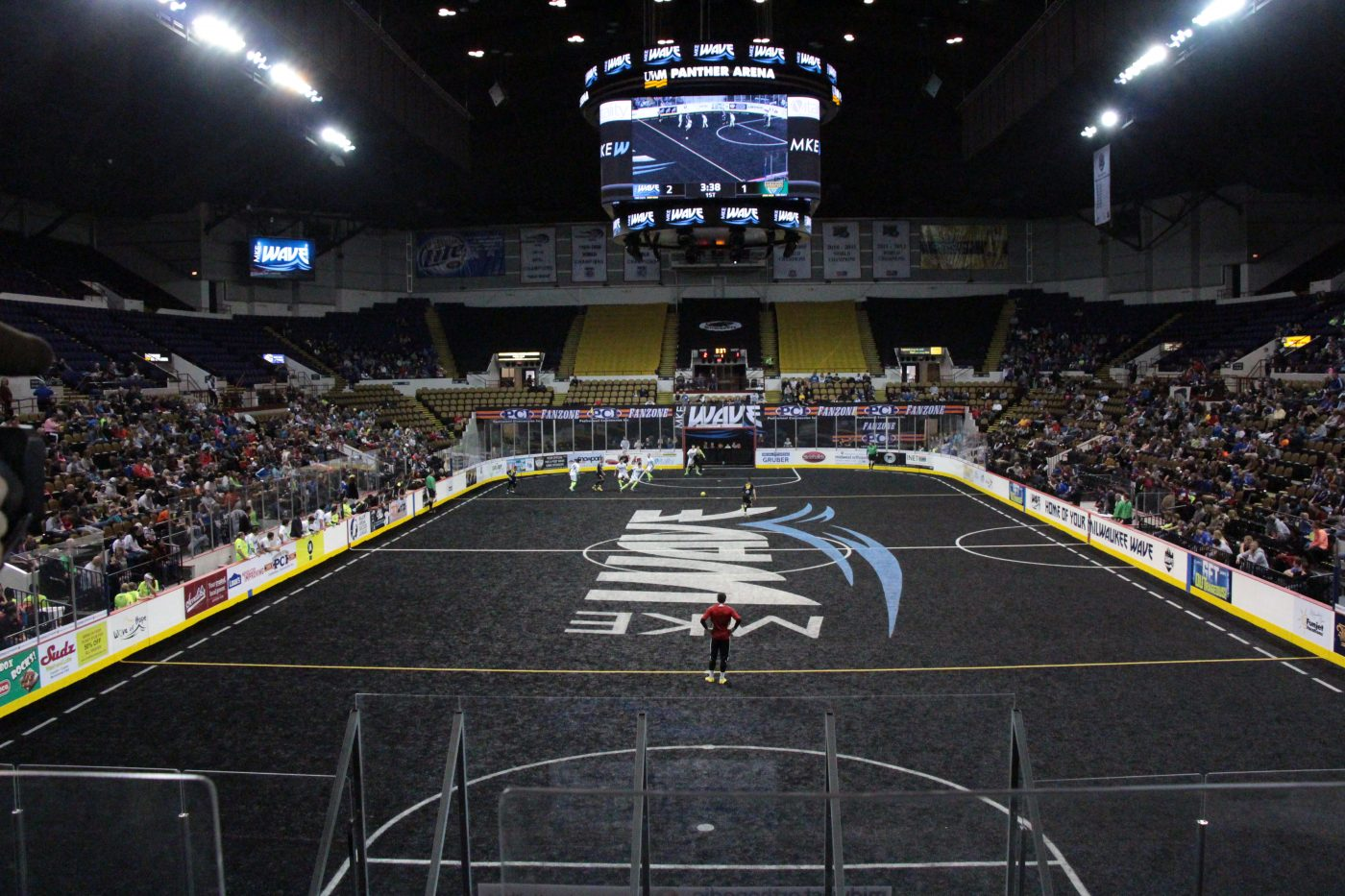 MKE Wave Black Turf Field 1