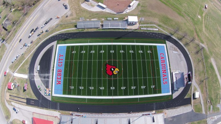 Webb City Chooses Midwest Synthetic Turf And Sporturf Sporturf