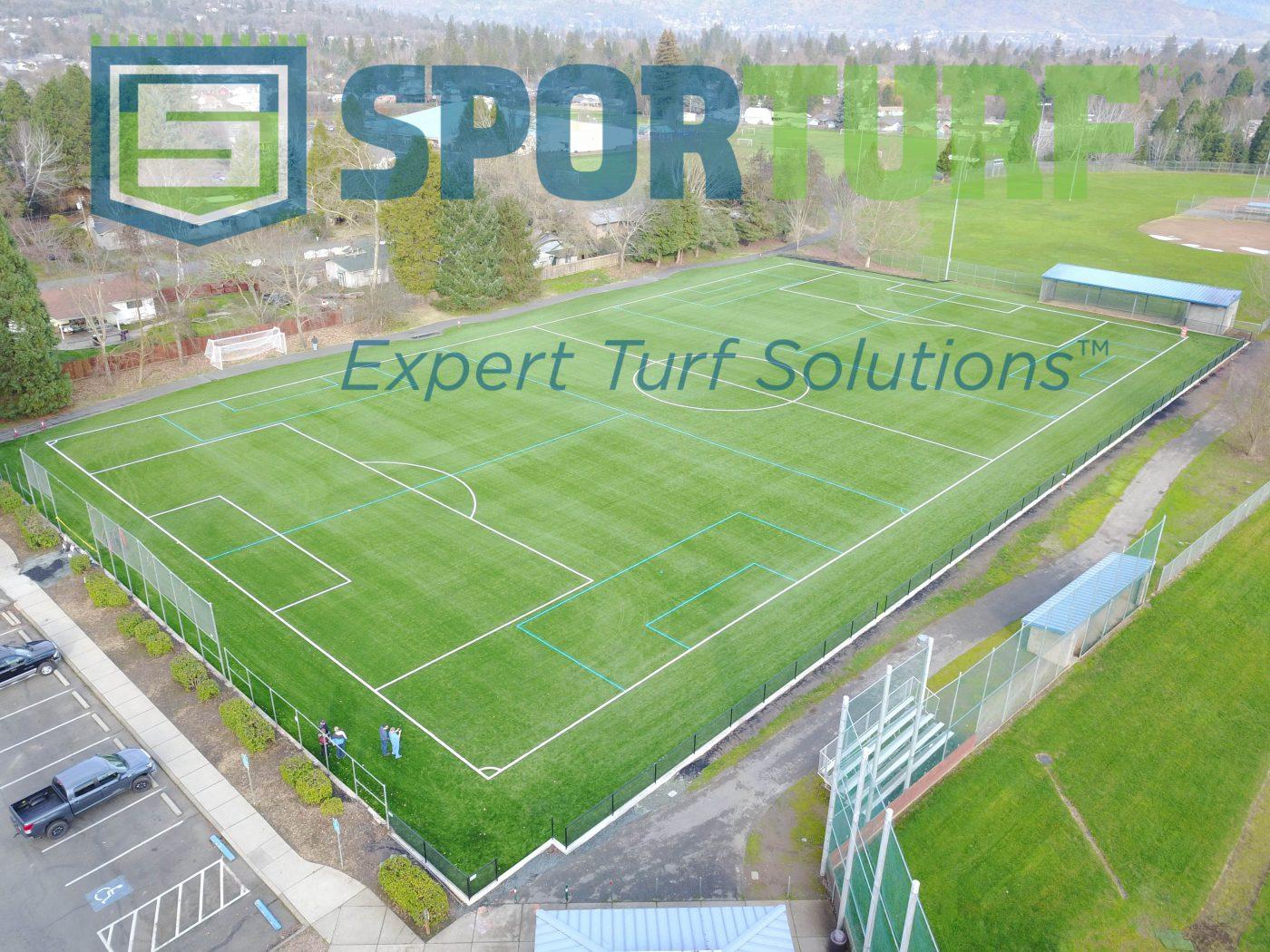 Grants Pass All Sports Park Soccer Field Sporturf